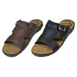 18 Units of Mens Leather Sandal - Men's Flip Flops and Sandals