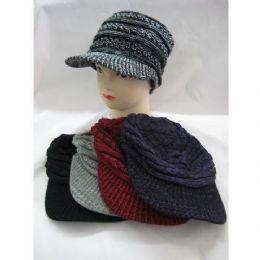60 Units of Ladies Croche Like  Winter Hat - Fashion Winter Hats