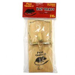 48 Units of Pest Control Wooden Rat Trap 1PK - Pest Control