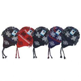 24 Units of Mohawk Winter Hat - Winter Helmet Hats
