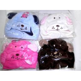 72 Units of Childrens Fleece Hat - Junior / Kids Winter Hats