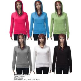 72 Units of Ladies Hoodie - Womens Sweaters & Cardigan
