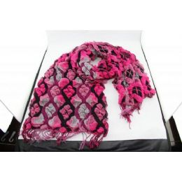 36 Units of Fashion Scarf With Playing Card Design - Winter Scarves