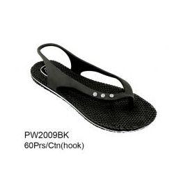 60 Units of Ladies Fashion Sandals Black - Women's Sandals