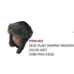 72 Units of faux Fur Aviator Winter hat - Trapper Hats