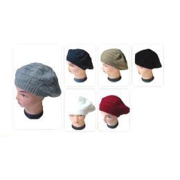 60 Units of Ladies Fashion Winter Knit Hat - Fashion Winter Hats