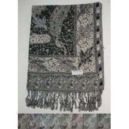 48 Units of Fashion Pashmina - Winter Pashminas and Ponchos