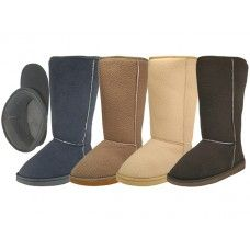 "24 Units of Women's 11.5"" Inches Height Comfortable Flannel Lining Winter Boots - Women's Boots"