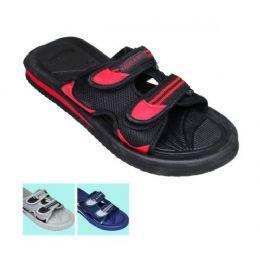 48 Units of Mens 2 Snap Sandal - Men's Flip Flops and Sandals