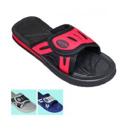 48 Units of Mens 1 Snap Sandal - Men's Flip Flops and Sandals
