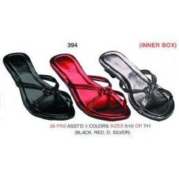36 Units of Ladies Sandals - Women's Sandals