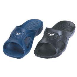 36 Units of Men's Sandals In Black And Blue - Men's Flip Flops and Sandals