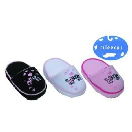 24 Units of SLIPPERS - Women's Slippers