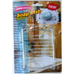 72 Units of Metal Soap Dish - Soap Dishes & Soap Dispensers