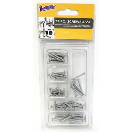 48 Units of 77 Piece Screws - Hardware Miscellaneous