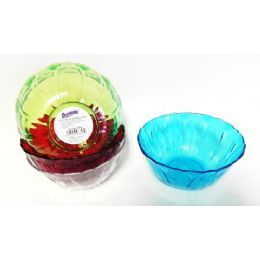 36 Units of Plastic Bohemian Bowl - Plastic Bowls and Plates