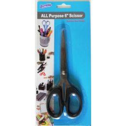 48 Units of 6 Inch All Purpose Scissor - Scissors