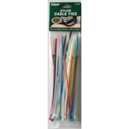 72 Units of Nylon Cable Ties - Cables and Wires