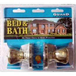 6 Units of Bed & Bath Doorknob Set - Hardware Miscellaneous