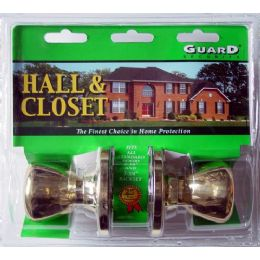 6 Units of Hall & Closet Doorknob Set - Doors