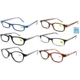 72 Units of Unisex Reading Glasses - Reading Glasses