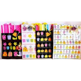 144 Units of Medium Birthday Gift Bags - Gift Bags