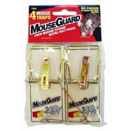 36 Units of Wooden Mouse Traps 4 Pack