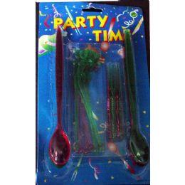 48 Units of 24 Piece Party Set - Party Novelties