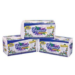 288 Units of 500 Count 1 Ply Lunch Napkin - Tissues