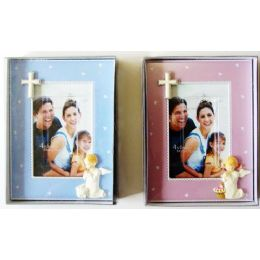 48 Units of Closeout Religious 4 Inch x 6 Inch Photo Frame - Picture Frames