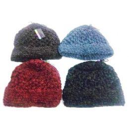 144 Units of Ladies Solid Knit Hats - Baseball Caps & Snap Backs