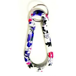 12 Units of Floral Print Key Chain - Key Chains