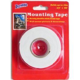 48 Units of 2 Sided Foam Mounting Tape - Hardware Miscellaneous
