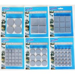 48 Units of Self Adhesive Slider Protectors - Home Accessories