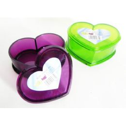 24 Units of Heart Shaped Bath Dish - Bathroom Accessories