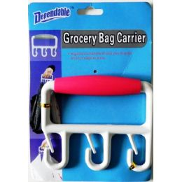 36 Units of Grocery Bag Carrier - Hooks