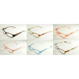 48 Units of Assorted Translucent Plastic Readers - Reading Glasses
