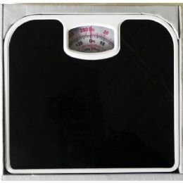 12 Units of Bathroom Scale Black Non Skid - Bathroom Accessories