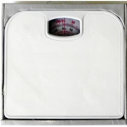 12 Units of Bathroom Scale White Non Skid - Bathroom Accessories