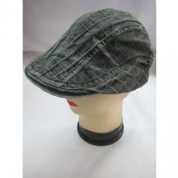 48 Units of Mens Beret Hat - Fedoras, Driver Caps & Visor