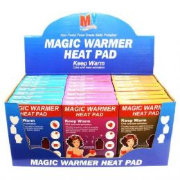 48 Units of Magic Warmer Heat Pad - Arm & Leg Warmers