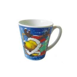 960 Units of Xmas Mug 12 Oz Astd Design - Christmas Novelties
