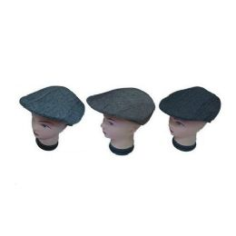 72 Units of Mens Beret With Lining - Fedoras, Driver Caps & Visor