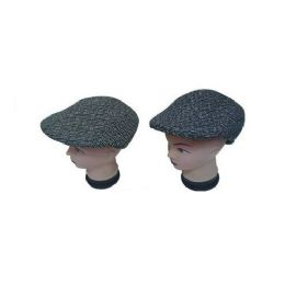 72 Units of Mens Beret With Lining Assorted Colors - Fedoras, Driver Caps & Visor
