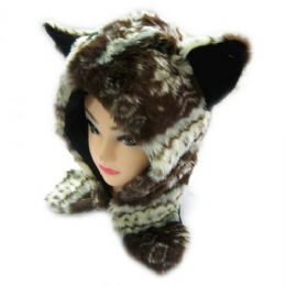 36 Units of Short Animal Hat - Winter Animal Hats