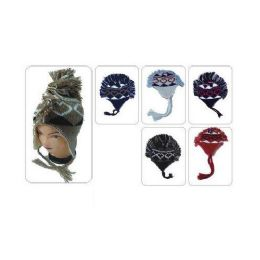 72 Units of Winter Mohawk Hat - Winter Helmet Hats