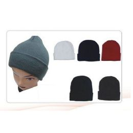 144 Units of Winter Beanie Black Only - Winter Beanie Hats