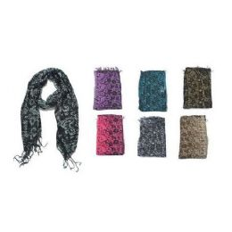60 Units of Snake Skin Print Ladies Scarf - Womens Fashion Scarves