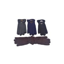 60 Units of Mens Winter Fleece Gloves - Fleece Gloves
