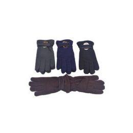 60 Units of Mens Winter Fleece Gloves - Fleece Gloves